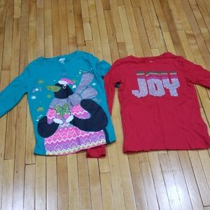 Circo Girls 10/12 Christmas Long Sleeves